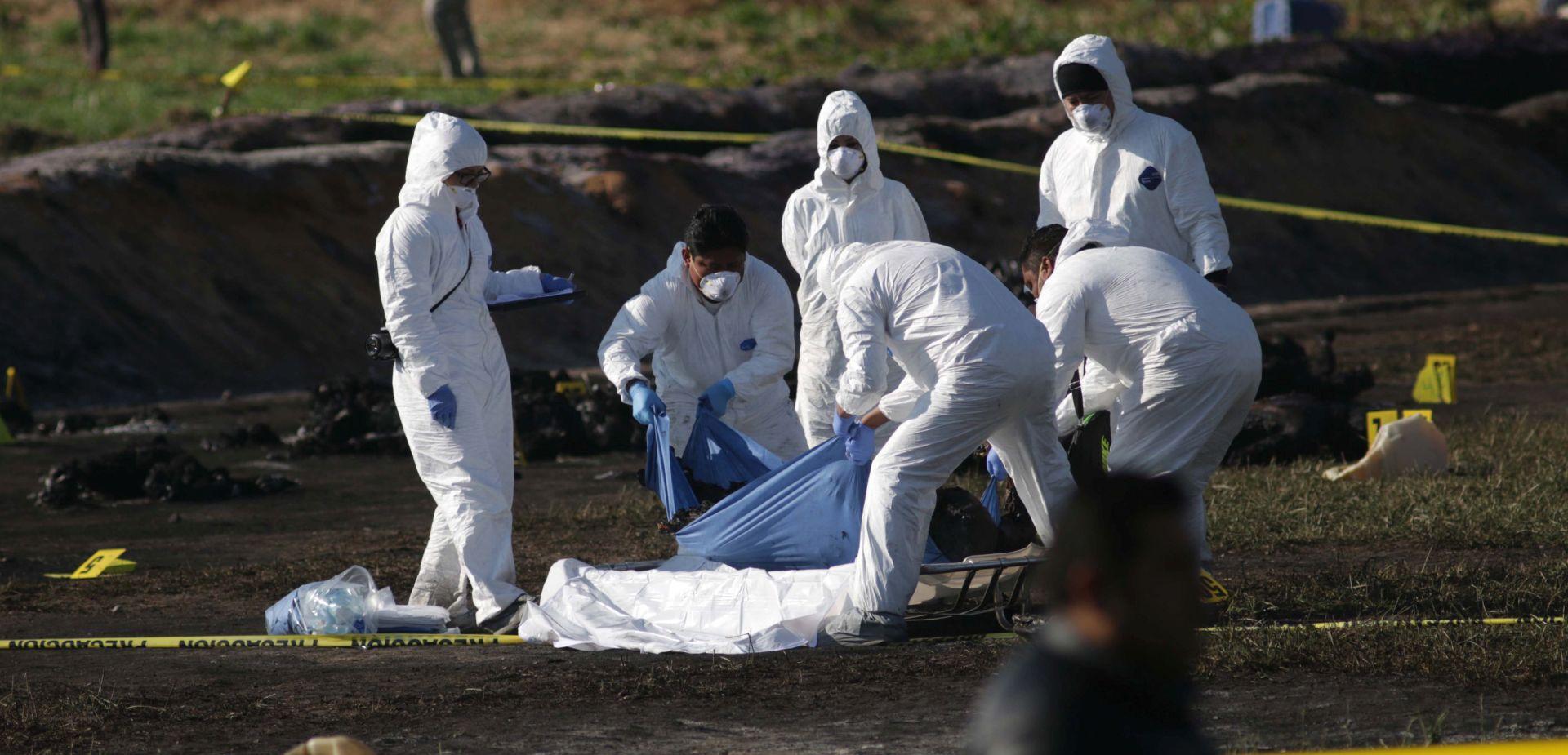 Eksplozija naftovoda u Meksiku odnijela 73 života