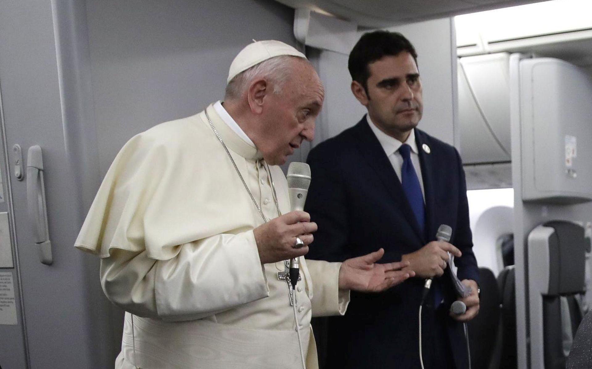 ZA CELIBAT Papa Franjo se boji krvoprolića u Venezueli
