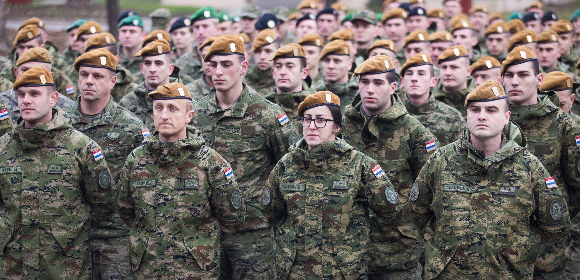 Odluka o veličini, sastavu i mobilizacijskom razvoju OSRH