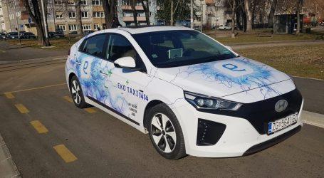 Prvi isključivo električni automobil u redovima Eko taxija