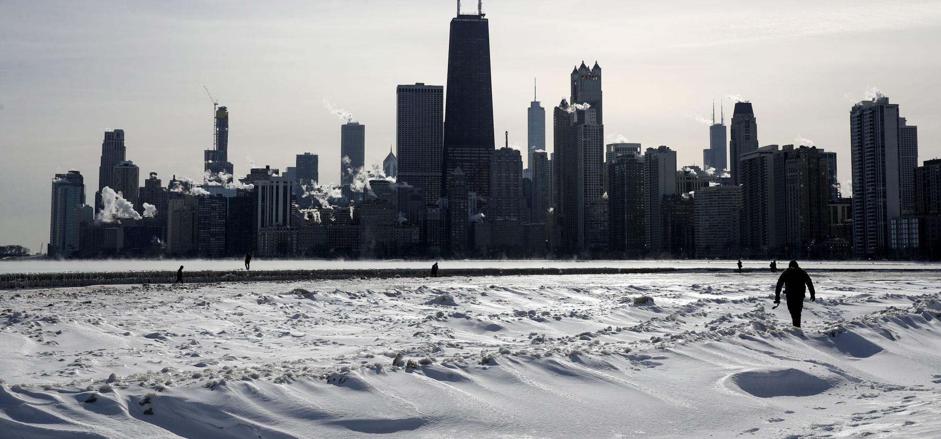 Polarni vrtlog slabi, američki Srednji zapad se zagrijava