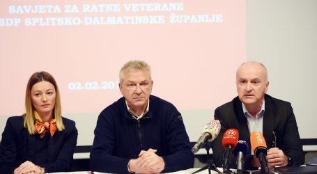 SDP 'HDZ ne može imati monopol na Domovinski rat'
