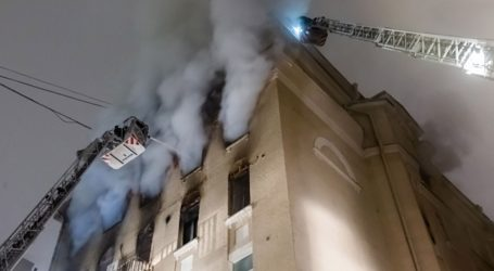 MOSKVA 7 mrtvih u požaru sedmerokatnice