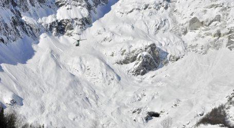Švicarske službe izvukle ozlijeđene u lavini, nema potvrda o poginulima