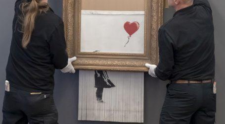 Golem interes za Banksyjevu 'Djevojku s balonom' u Baden-Badenu
