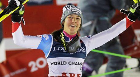 SP SKIJANJE Holdener obranila naslov u alpskoj kombinaciji