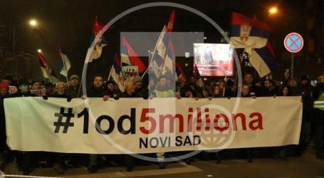 Sve više Vojvođana u protuvladinim prosvjedima