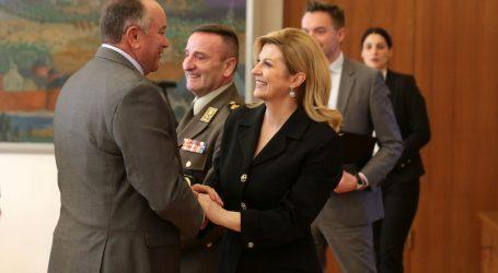 Predsjednica primila generale oružanih snaga SAD-a iz programa Capstone