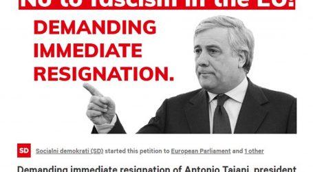 Peticiju za Tajanijevu ostavku potpisalo 8000 ljudi