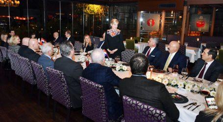 Predsjednica Grabar-Kitarović u Istanbulu s turskim gospodarstvenicima