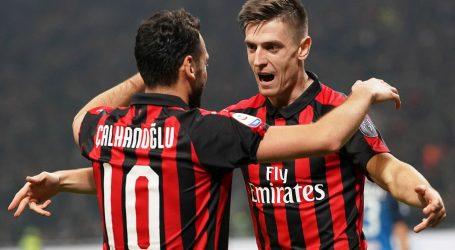 Pobjeda Milana, poljski golgeter Piatek opet zabio