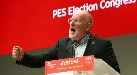 Europski socijalisti u Madridu potvrdili Timmermansa za svog kandidata