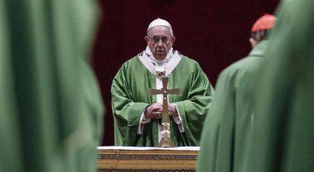 Papa usporedio seksualno zlostavljanje s poganskim žrtvovanjem
