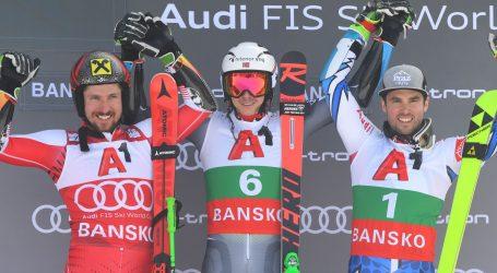 BANSKO Kristoffersen pobijedio Hirschera, Zubčić 25.