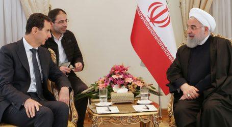 Sirijski predsjednik Bašar al-Asad u službenom posjetu Iranu