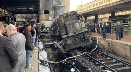 Najmanje 10 poginulih u požaru na kairskoj željezničkoj postaji