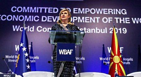 Kolinda Grabar Kitarović sudjelovala na godišnjoj konferenciji WBAF-a