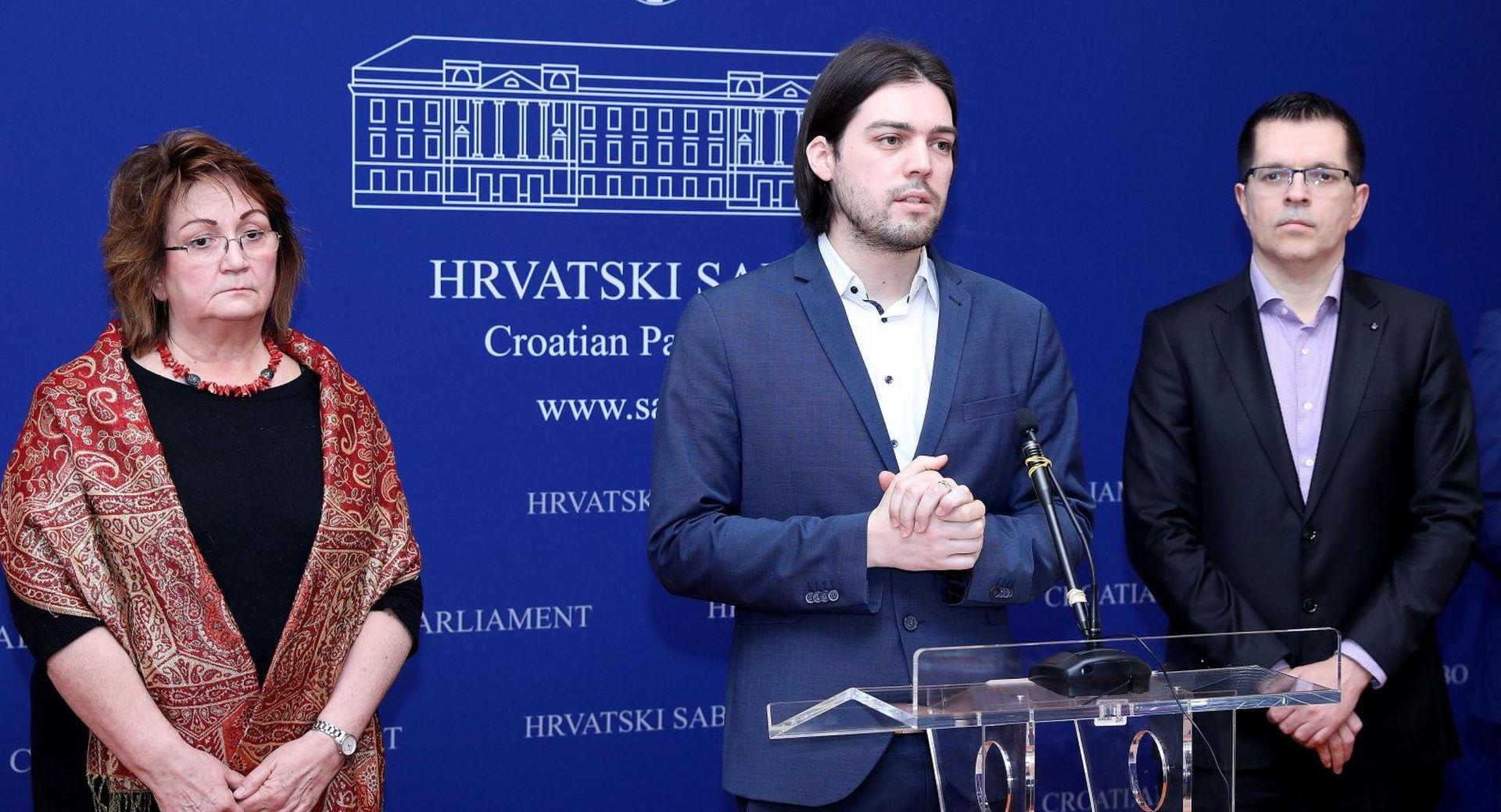 Sinčić se ogradio od Pernara i Vuletića