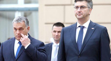 MAĐARSKI MEDIJI 'Orbán bi mogao podržati desnu frakciju HDZ-a protiv Plenkovića'