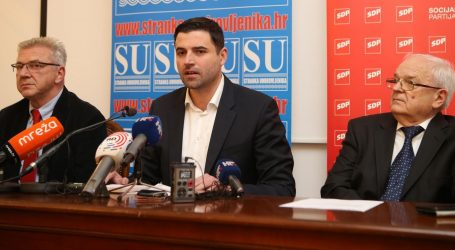 """BERNARDIĆ """"SDP-ov plan povećati prosječne mirovine za 300 kuna"""""""