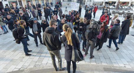 """Zadrani prosvjedovali pod motom """"Protiv pravosuđa koje štiti nasilnike"""""""