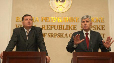 Dodik i Čović slažu se da brojniji narodi u BiH ne bi trebali preglasavati manje brojne