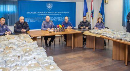 Dubrovačka policija zaplijenila 62 kilograma marihuane
