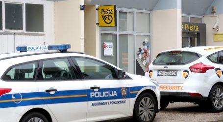 Uz prijetnju vatrenim oružjem opljačkali poštu u Zagrebu