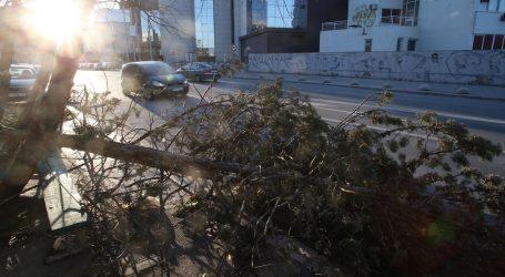 Policija izdala upozorenje Splićanima zbog orkanske bure