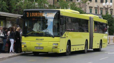 Šteta na demoliranom autobusu Prometa 70 tisuća kuna