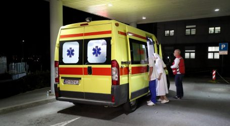 Teško ozlijeđena djevojčica s Paga stigla na Rebro