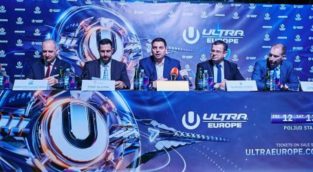 Festival ULTRA Europe očekuje više od 250 glazbenih imena