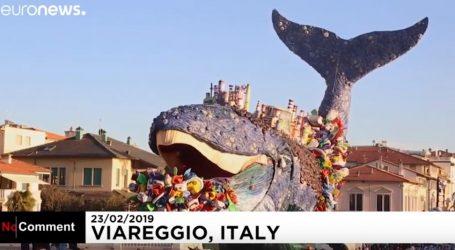 VIDEO: Karneval u Viareggiou poslao snažnu ekološku poruku