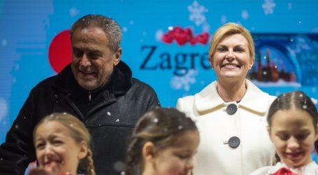 Kolinda u četvrtak šeće Zagrebom