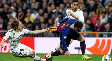 RAKETA BOLJI OD LUKE Real Madrid – Barcelona 0:3