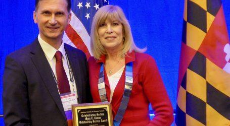 "Draganu Primorcu nagrada ""Mary E. Cowan Outstanding Service Award"""
