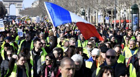 Gnjev žutih prsluka teško bi se mogao čuti na europskim izborima
