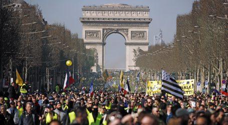 Žuti prsluci ponovo na ulicama, sukobi u nekoliko gradova