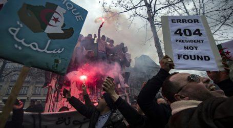 Tisuće prosvjednika diljem Francuske protiv petog Buteflikina mandata