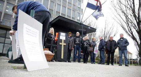 Održan prosvjed protiv korupcije u pravosuđu