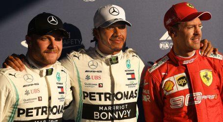 """VN AUSTRALIJE Hamiltonu osmi """"pole position"""" u Albert Parku"""