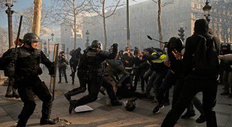 Francuske vlasti zabranile prosvjede na Champs-Elyseesu