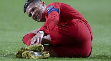 Golijada Engleza protiv Crne Gore, remi Portugala uz ozljedu Ronalda