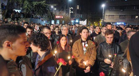 BEOGRAD Na prosvjedu odano poštovanje žrtvama NATO-va bombardiranja Srbije 1999.