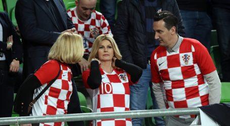 Predsjednica u Budimpešti u radnom posjetu i na nogometnoj utakmici