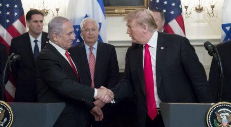 Trump potpisao uredbu:  Golanska visoravan proglašava se izraelskim teritorijem