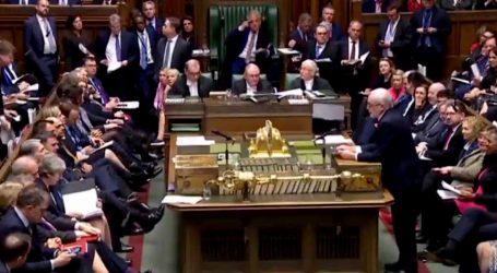 Britanski parlament treći put odbio sporazum o Brexitu