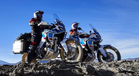 VIDEO: Africa Twin na zahtjevnom test poligonu