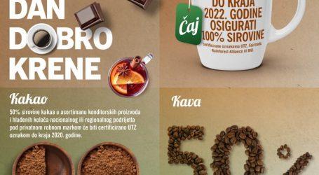 Do 2022. godine Lidlov kakao, čaj i kava iz održivih izvora