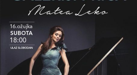 Poseban nastup hrvatske pijanistice Matee Leko